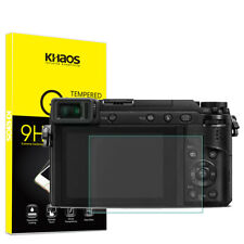 Khaos For Panasonic Lumix GX85 GX80 GX7 Mark II Tempered Glass Screen Protector