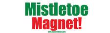 Mistleto magnet! - Removable bumper sticker