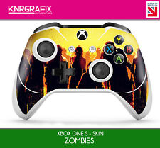 KNR6632 PREMIUM XBOX ONE S CONTROLLER SKIN ZOMBIES WALKING DEAD