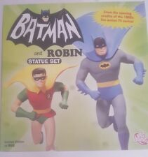 Batman and Robin Statue Set From 1960's Live action TV Series