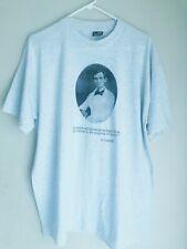 Abraham Lincoln à moitié fait Citer-NEUF noir à manches Baseball Coton T-Shirt