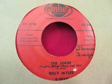 BILLY MYLES THE JOKER/HONEY BEE 1957 EMBER 1026
