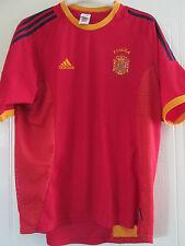 España 2002-2004 Hogar Camiseta De Fútbol Talla Grande/40330