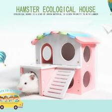 Small Pet Hamster Bedding House Colors Grand Villa Squirrel Hedgehog Cage Nest