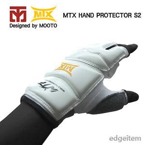 Mooto MTX Hand Protector S2 (1 pair) Taekwondo Guard Gloves WTF