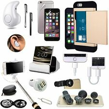 Case Charger Bluetooth Headset Handsfree Monopod Fish Eye Accessory For iPhone 7