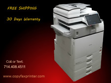 Ricoh Mp 3055 Blackwhite Copier Printer Scanner Super Low Meter Count