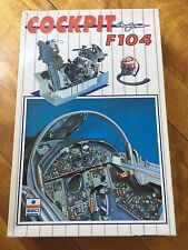 ESCI  1/12 F-104 COCKPIT Plastic Model Kit Rare and Long Out of Production Hot!!