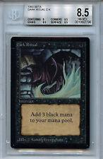 MTG Beta Dark Ritual BGS 8.5 NM-MT+ Magic the Gathering WOTC Card 7796