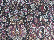 Scarf in Liberty Varuna Wool 'Shirvan' pink, cream, grey, black