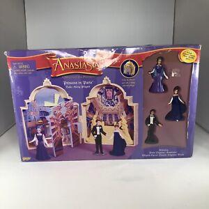 Anastasia Princess in Paris Take Along Playset Galoob Empress Marie Dolls 1997