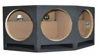 """SoundBox LP3-12a, Triple 12"""" Ported Subwoofer Box Vented Sub Enclosure"""
