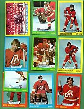 1973 - 1974 Topps Hockey Set ATLANTA FLAMES Near Team Set Lot