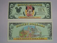 1998  $10   MINNIE MOUSE UNCIRCULATED Series AA  NEW