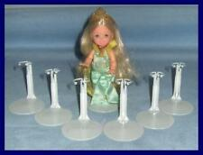 6 White KAISER Doll Stands for Barbie's Sister KELLY Kids Club U.S. SHIPS FREE
