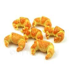 6 poupées maison miniature croissants