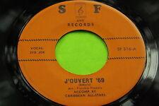 Hear Great Rare 60's Calypso 45 : Syd Joe - Pussy Cat ~ J'Ouvert '69 -  S &F 316