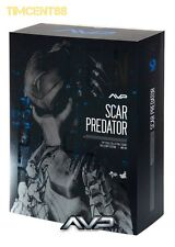 "In Stock! Hot Toys Alien vs. Predator AVP - Scar Predator 14"" Action Figure"