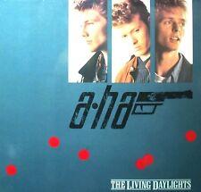 "12"" - A - HA - The Living Daylights (POP) SPANISH PRESS.1987 MINT LISTEN * OYELO"