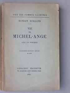Michel Ange Sculpteur Biographie 1923 - Romain Rolland
