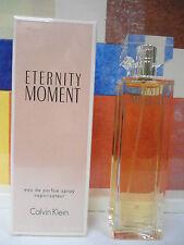 ETERNITY MOMENT CALVIN KLEIN EAU DE PARFUM SPRAY 1.7 OZ / 50 ML NIB
