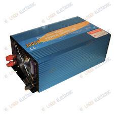 INVERTER PROFESSIONALE ONDA SINUSOIDALE PURA 3000W WATT 12VDC > 230VAC