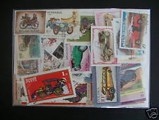 TIMBRES TRANSPORT /  VOITURES : 100 TIMBRES TOUS DIFFERENTS / STAMPS CAR