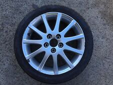 1 X GENUINE LEXUS IS200 AND IS300 ALLOY WHEEL,RIM AND TYRE 215 45 17,MAG 5X114.3
