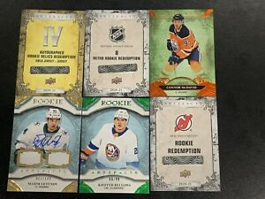 20-21 UD Artifacts AUTOGRAPHED ROOKIE RELICS REDEMPTION (IV) Gold Jersey!