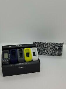 B-ACTIVE Interchangeable Watch/Fitness Tracker 5 Bands No App Needed NEW