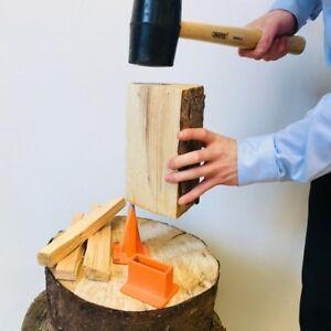 USBB Kindling Axe Splitting Base Blade Wood Cutting Smart Log Splitter Timber