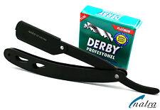 Rasiermesser inkl. 100 Derby Rasierklingen Rasierer Wechselklingenrasierer Rasur