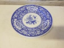 Vintage Set of 6 Spode England The Blue Room Collection Plates Transferware