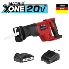 NEW MATRIX 20v (18v) Cordless Reciprocating Saw KIT Incl Battery and Charger