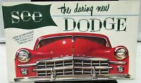 1949 Dodge Dealer Color Sales Brochure Folder Large Full Line Nice Rare