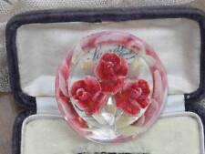 Flowers/Plants Plastic Retro Costume Jewellery (1940s)