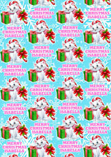 MARIE ARISTOCATS Personalised Christmas Gift Wrap - Aristocats Wrapping Paper