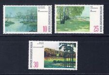 GERMANY MNH STAMP DEUTSCHE BUNDESPOST BERLIN 1972 LANDSCAPES  SG B418 - B420