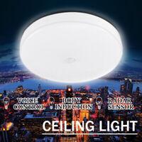 18W LED Ceiling Lamp Motion Sensor Down Light Voice Control Flush Mount Fixture