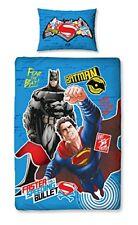 Batman V Superman Single Panel Duvet Cover Reversible 2 in 1 Bedding Boys