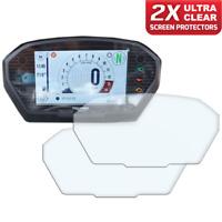 2 x TRIUMPH STREET TRIPLE R RS Dashboard Screen Protector: Ultra-Clear