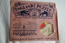 More details for vintage advertising cws presented by co-op society 'england puzzle' educational.