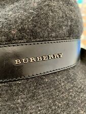 BURBERRY HAT cappello 100% wool lana merino