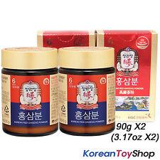 Cheong Kwan Jang / 100% Korean 6 Years Red Ginseng Powder 180g (90g x 2 Bottles)