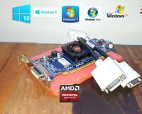 HP ProDesk  SFF:  400, 600 (G1, G2, G3),  Dual DVI Video Card