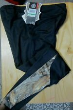 Under Armour Realtree Edge Youth Girls Large Black Leggings; New