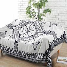 Bohemian Boho Cotton Throws Rug Couch Lounge Sofa Chair Blanket Bedding