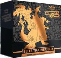 Pokemon TCG Champion's Path Elite Trainer Box Sealed 10 Booster Packs SHIPS NOW
