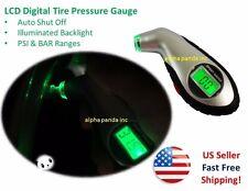LCD Digital Tire Tyre Air Pressure Gauge Tester Car Auto Motorcycle Backlight