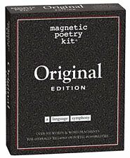Magnetic Poetry Kit - ORIGINAL - Essential Words For Your Refrigerator - Magnets